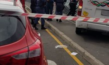 Pedestrian seriously injured in a collision in Belville