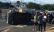 Car and taxi collide leaving nineteen injured in Bellville in the Western Cape.