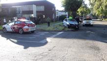 Three injured in two-vehicle collision in Benoni