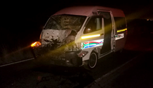 Eight people injured when taxi hits horse in Bloemfontein