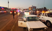 Woman hit-and-killed by bakkie at the North Rand and Rondebult Road in Boksburg.
