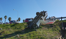 69-Year-old man killed in bakkie rollover at Brackenfell, Western Cape