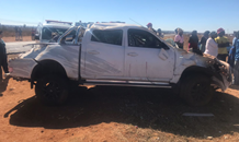 Bakkie rollover leaves three injured on the R501 in Carletonville.