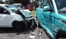 Man seriously injured in a two-vehicle collision in Florida