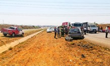 Multiple vehicle collision leaves six injured in Meyerton