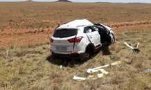 One killed, four injured in vehicle rollover on the N8 near Petrusburg in the Free State.