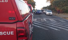 Nine injured in a three-vehicle collision in Pietermaritzburg