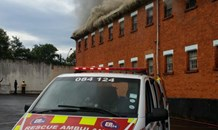 Three firemen injured in CBD fire.