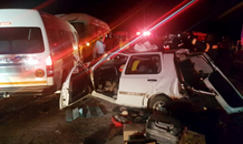 Three-vehicle collision leaves 23 injured in Potchefstroom