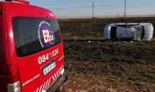 Five injured following vehicle rollover on the R57