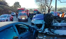 Multiple vehicle collision leaves one dead, fourteen injured at intersection in Randburg