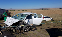 Head-on collision leaves three dead, one critical on the R26 outside of Reitz