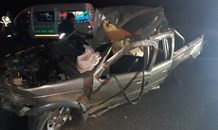 One killed, another critically injured in a bakkie rollover in Sasolburg