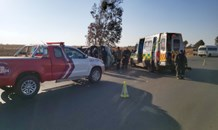 Taxi rollover leaves twelve injured in Vereeniging