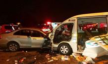Head-on collision leaves at least eight injured in Vereeniging