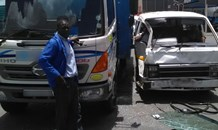 Taxi and truck collide leaving five injured, Vereeniging