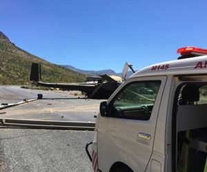 Eight people injured in Du Toitskloof helicopter crash