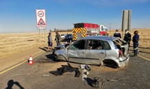 Two dead, two injured in vehicle rollover outside of Ermelo