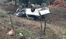 Bakkie rollover leaves two dead, two injured in Hazyview