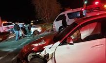 Multiple-vehicle collision leaves two injured in Krugersdorp