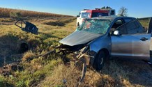 Tractor and car collide, leaving man seriously injured in Lichtenburg