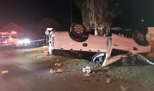 Bakkie rollover leave one dead, three injured in Meyerton