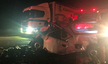 Two bakkie collision leaves one dead, eighteen injured on the N12