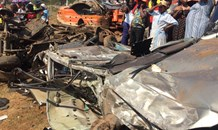 Six killed, five injured following collision on the Nagel Main Road in Nkanyezini, KwaZulu Natal.