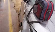 Four pedestrians injured in a collision in Pretoria East