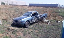 Two bakkies collide, leaving one dead, five injured in Randfontein