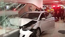 Man seriously injured after crash in underground parking in Tokai