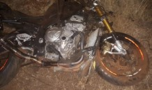 Biker and pedestrian killed in collision in Vosloorus