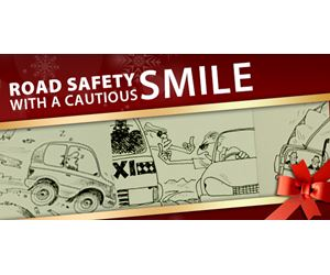 Road Safety with a Cautious Smile for the Festive Season