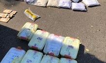 Two suspects arrested for possession of drugs with a street value of R10 million