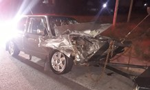 One person injured in collision, Germiston