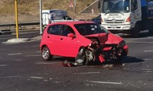 Two-vehicle collision leaves one injured in Sunninghill