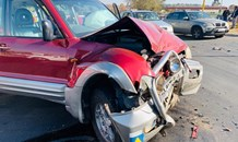 One injured in a two-vehicle collision in Olivedale