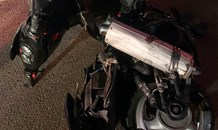 Two injured in bike crash in Woodmead