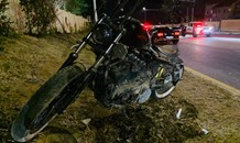 Biker injured in road crash in Paulshof