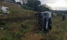 Single-vehicle rollover on the M7 in Pinetown