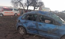 One injured in a vehicle rollover in Harrismith