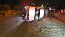 Vehicle rollover in Heriotdale