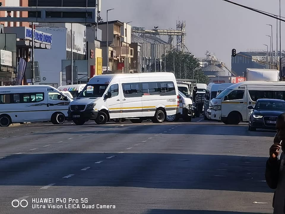 Several streets blocked in Polokwane CBD
