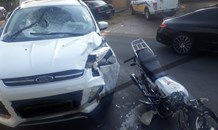 One person injured in a bike collision in Kempton Park