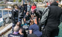 Patient treated after suffering a cardiac event at the False Bay Yacht Club