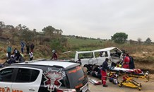 One dead, eighteen injured in a mass casaulty crash in Northriding