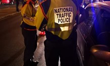 A total of 48 motorists were arrested during the long weekend by the National Traffic Police