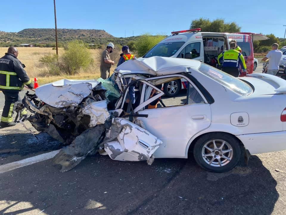 10 Injured in a collision on the N8 between Bloemfontein and Botshabelo