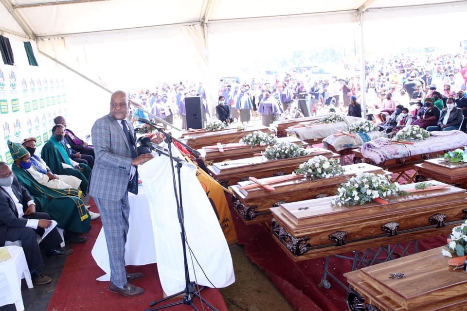 MEC Ntuli asks for behavioral change as 13 family members are buries at Bulwer