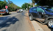 Two injured in a collision in Centurion